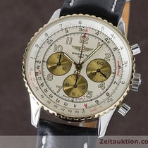 Breitling Navitimer Chronograph Automatik Gold / Stahl D30022