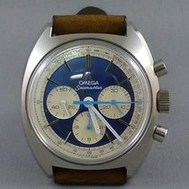 Omega Seamaster 1969 Panda Blue White Chronograph steel