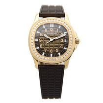 Patek Philippe New  Aquanaut 18k Rose Gold Gray Automatic...