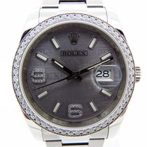 Rolex Datejust 116244 white gold with diamonds