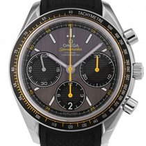 Omega Speedmaster Racing Stahl Co-Axial Automatik Chronograph...