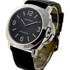 Panerai PAM 112 Luminor Base - Polished Steel on Strap with...