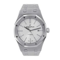Audemars Piguet AP Royal Oak 41mm Stainless Steel White Dial