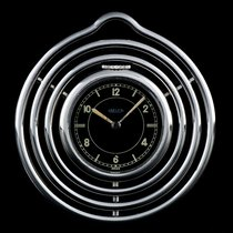 Jaeger-LeCoultre Stainless Steel Black Dial Spiral Pocket Watch