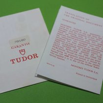 Tudor vintage warranty chrono 79180 and translation papers 1996