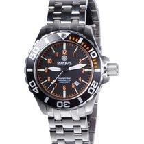 Deep Blue Daynight Diver 45mm Auto T100 Tritium Glow Date 300m...
