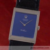 Rolex Lady 18k Weissgold Cellini Classic Handaufzug Medium 4014