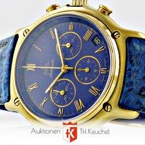 Ebel 1911 Chronograph El Primero Gold Full Set Neuwertig 8134901