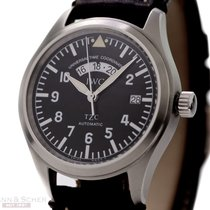 IWC Fliegeruhr UTC Ref-IW3251 Stainless Steel Box Papers Bj-2000
