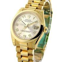 Rolex Unworn 178248 Mid Size Yellow Gold President - 178248 -...