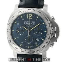 Panerai Luminor Collection Daylight Chronograph Titanium Blue...