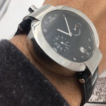 Movado Elliptica Power Reserve Gmt Stainless   Watch  Automati...