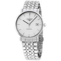 Longines Elegant Collection Automatic Stainless Steel Mens...