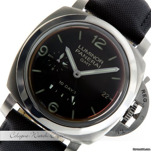 Panerai Luminor GMT 10 Days Power Reserve Stahl PAM270