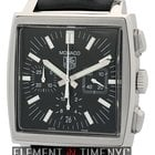 TAG Heuer Monaco Chronograph Steel 38mm Reference #: CW21111.F...