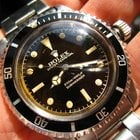 Rolex 5512 ChapterRing Chocolate Brown Gilt dial PCG Sub '62