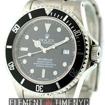 Rolex Sea-Dweller Stainless Steel Black Dial
