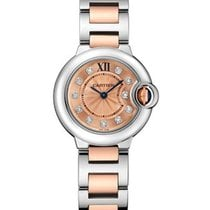 Cartier WE902052 Ballon Bleu 28mm 2-Tone SS/RG - on Bracelet...