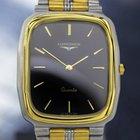 Longines Gold-plated & Ss Slim Rectangular Dress Watch...