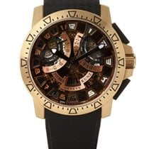 Pierre Kunz Sport 403 Rose Gold Black Strap