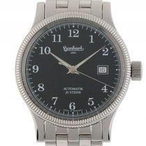 Hanhart Minos Stahl Automatik Armband Stahl 40mm Bj.2013...