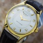 Benrus Model E6 135 Gold Plated Manual Mens Vintage Rare Swiss...