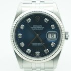 Rolex Datejust 36mm Steel Factory Diamond Dial Jubilee Band