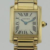 Cartier Tank Francaise Quartz 18K Gold 2385