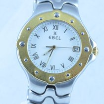Ebel Sportwave Herren Uhr 37mm Stahl/gold Klassisch 3 Gold...