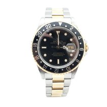 Rolex SS/18K Yellow Gold Rolex GMT Master II with Oyster Band