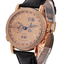 Ulysse Nardin GMT  Perpetual 40mm with Diamond Bezel
