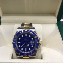 Rolex Submariner Blue Steel and Gold
