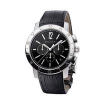 Bulgari Men's BB41BSLDCH Bvlgari Chronograph Watch