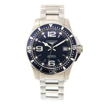 Longines Conquest Stainless Steel Black Automatic L3.741.4.96.6