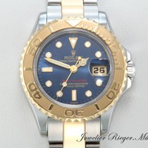 Rolex YACHTMASTER 169623 STAHL GOLD 750 REHAUT  29mm Yacht-Master