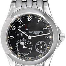 Patek Philippe Men's  Power Reserve Moon Steel 5085 Watch
