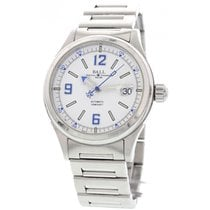 Ball Men's Ball Fireman Stainless Steel NM2088C Box &...
