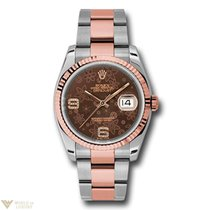 Rolex Oyster Perpetual Datejust Stainless Steel & Everose...