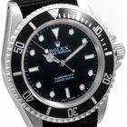 Rolex Mens SS 14060 No Date Submariner -  Black Dial w/ Nato...