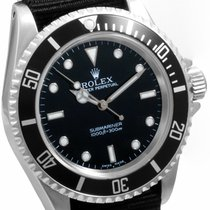 Rolex Mens SS 14060 No Date Submariner -  Black Dial w/ Nato...