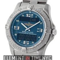 Breitling Aerospace Avantage Titanium 42mm Blue Dial Ref. E79362