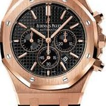 Audemars Piguet Royal Oak 41MM chrono - rose gold - black dial...