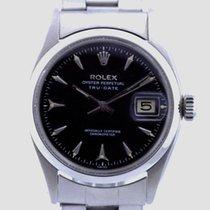 """Rolex Oyster Perpetual """"Tru-Date"""" Automatik in Edelstahl ca.1957"""