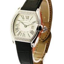 Cartier Lady''s Roadster Diamond Set Bezel & Crown