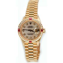 Rolex Lady's President Model 79178, 18K Yellow Gold...