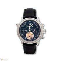 Blancpain Leman Tourbillon Chronograph Platinum Men's Watch