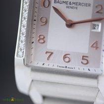 Baume & Mercier Ladies Hampton Steel and Diamond Watch...
