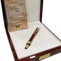Montblanc Patron of Art Henry Tate 888 Fountain Pen, Gold 18kt