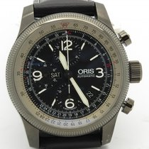 Oris Big Crown X1 Calculator Automatic Chronograph Pvd 46mm W/...