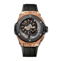 Hublot Big Bang Alarm Repeater 45mm Automatic 18K King Gold...
